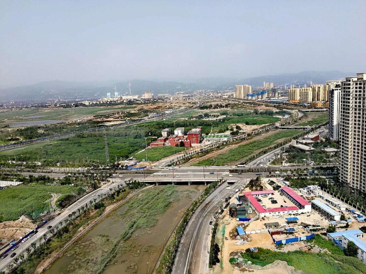 冶峪河道路快速化改造及综合治理