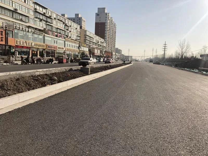 清徐县紫林路道路改造