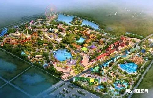 龙城公园项目景观绿化