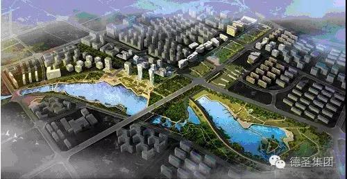 晋城市主城区城东景观水系