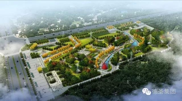 晋中开发区龙湖公园