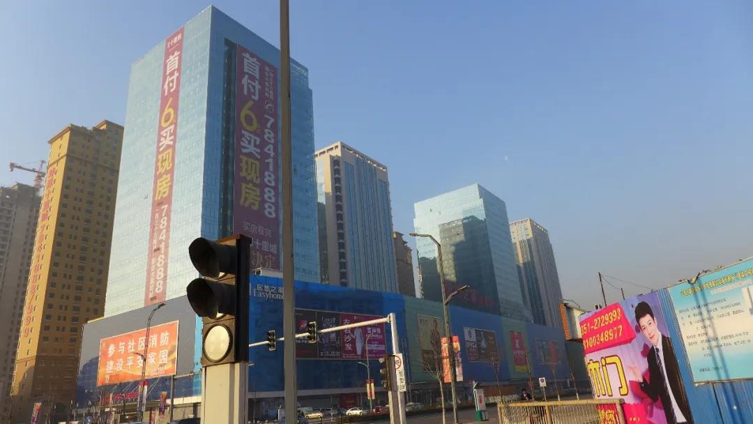 坤泽十里城步行街商业用房地基处理