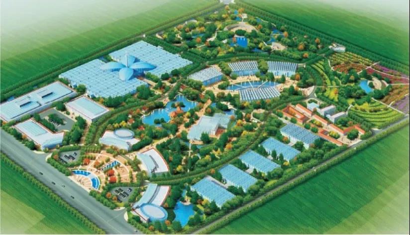 崇明晨农精品农业科技示范园修建性详细规划