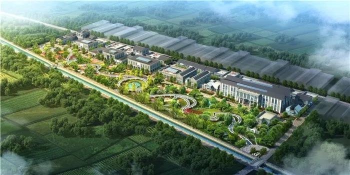 陕西高陵共享村落-通远府规划