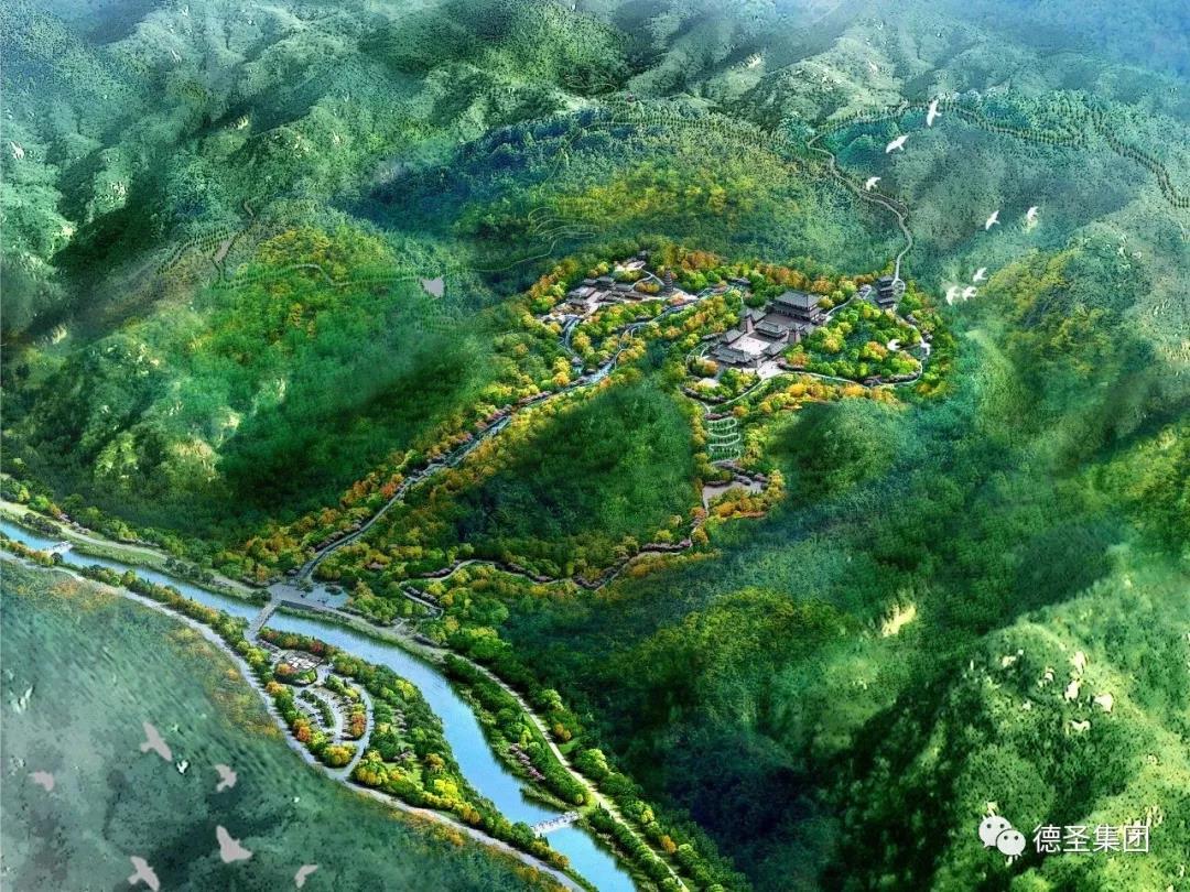 生态环境修复技术服务-太山龙泉寺景区景观综合整治